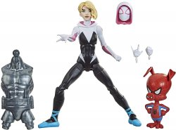 Marvel Legends Gwen Stacy Spider-Man Into the Spider-Verse figure