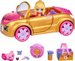 Shopkins Happy Places Royal Convertible with Tiara Sparkles