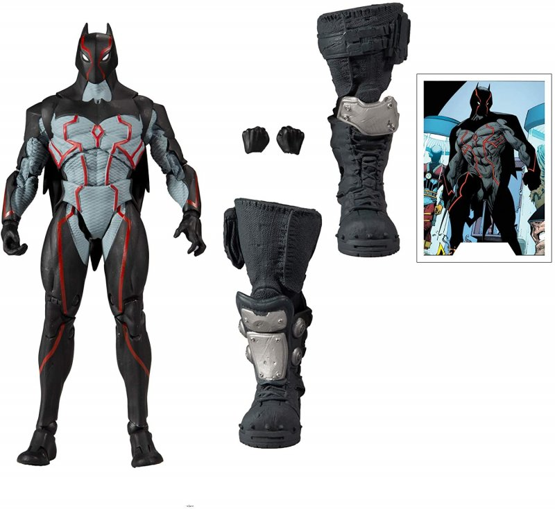 DC Comics Myultiverse and BAF Bane pieces