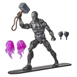 Marvel Legends Silver Surfer with Mjolnir Exclusive Action Figure