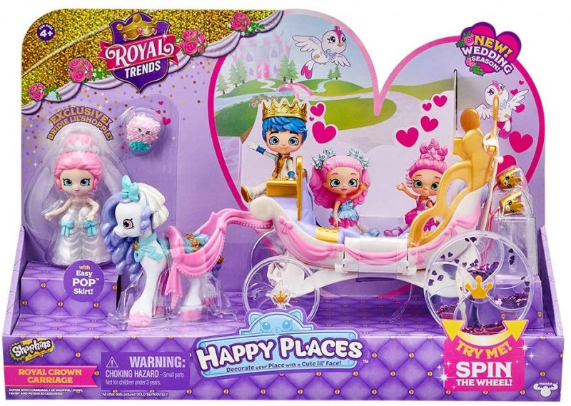 Shopkins Happy Places with Bridie and Marry Belle Pony