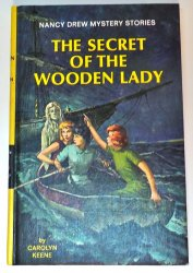 Nancy Drew #27 The Secret of the Wooden Lady picture cover yellow matte