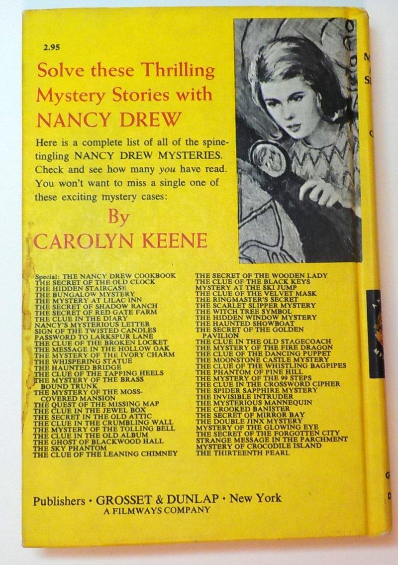 Nancy Drew Mystery Stories #29