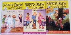 Nancy Drew and the Clue Crew lot of 3 books #4, 6, 16 PB Carolyn Keene