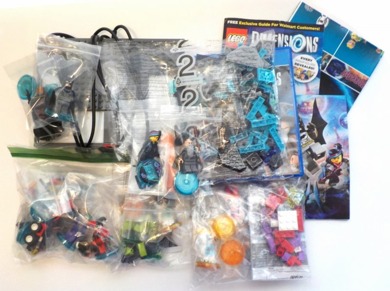 Starter Pack, Joker and Harley, Bubbles and Blossom team packs, Buttercup funpack