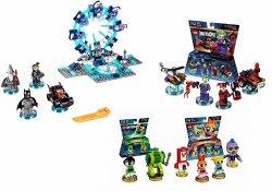 Lego Dimensions Starter Pack, Harley, Joker Powerpuff Girls PS4 Game included