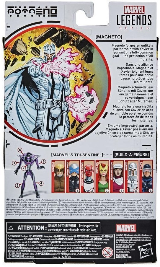 Marvel Legends House of X with BAF Tri-Sentinel pieces