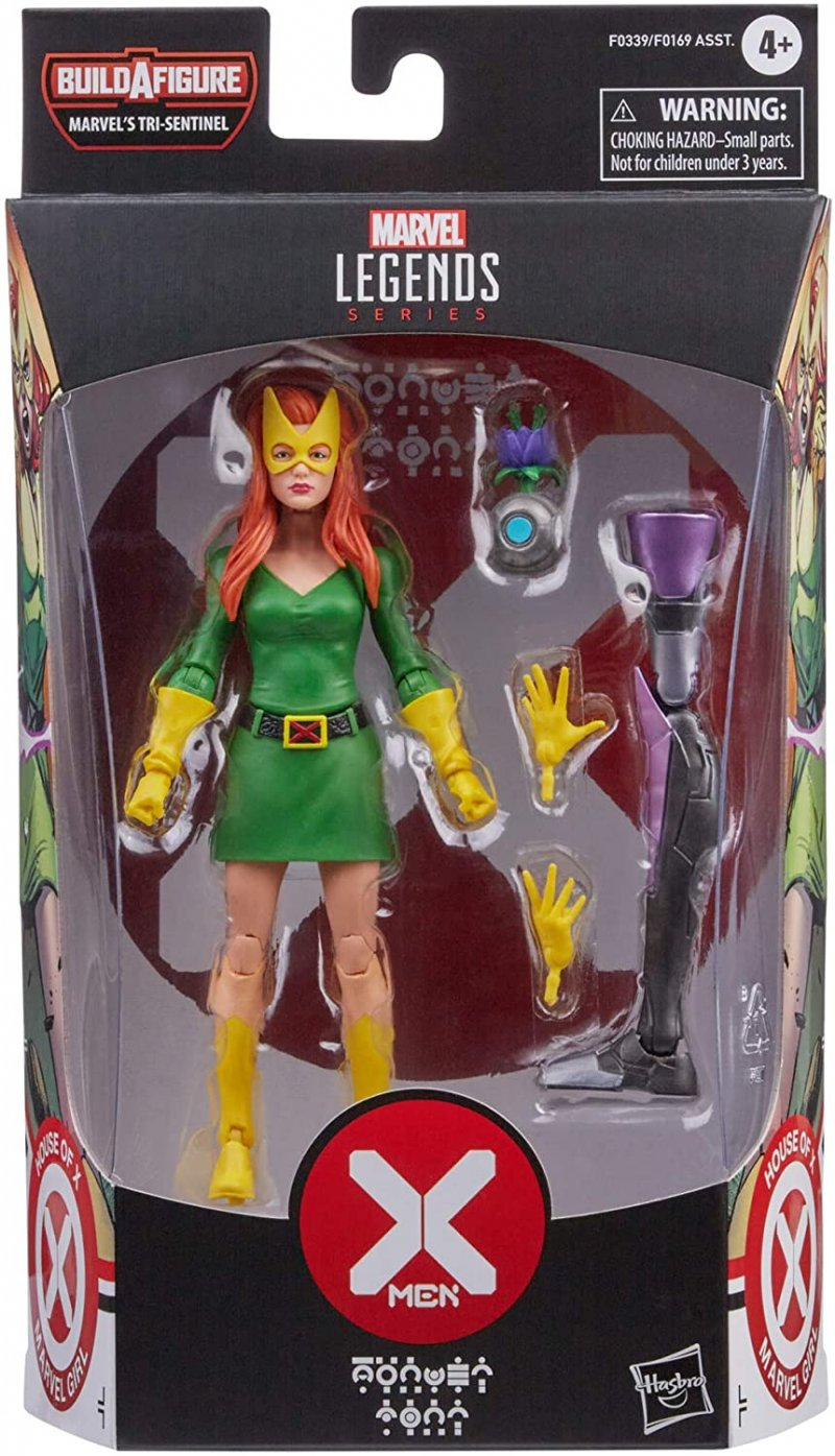 Marvel Legends House of X w/ BAF Tri-Sentinel piece