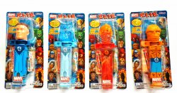 Klik Candy Dispensers The Fantastic 4 Marvel Heroes released 2007