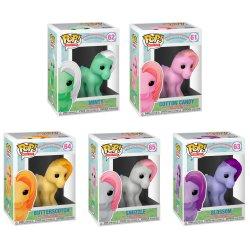 Funko POP! Retro My Little Pony Set of 5 #s 61-65 Exclusive
