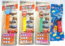 PEZ Disney Pixar's Cars set of 4 released 2006, retired