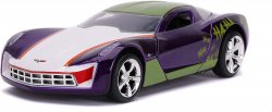 DC Comics The Joker inspired 2009 Chevy Corvette Stingray concept vehicle