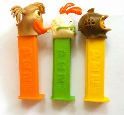 '.PEZ Chicken Little Series Set.'