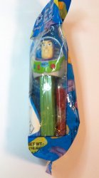 PEZ Disney's Toy Story Buzz Lightyear introduced 2006 cello bag retired