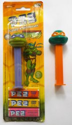 PEZ TMNT Michelanglo (loose) Donatello on card 2005 retired