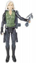 Marvel Avengers Titan Hero Series Black Widow 12 inch figure