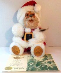 Robert Raikes The Good Company Santa Clause Bear 1989 2nd Christmas Edition