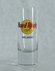 Thumbnail of Hard Rock Cafe ORLANDO Tall Shooter Shot Glass