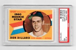 1960 Topps #122 Don Dillard RS [PSA NM 7]