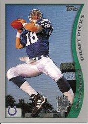 1998 Topps Season Opener #1 Peyton Manning RC