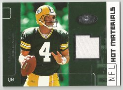 2002 Hot Prospects Hot Materials #HMBF Brett Favre