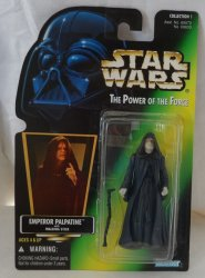 Star Wars Power of The Force Emperor Palpatine with Walking Stick Action Figure
