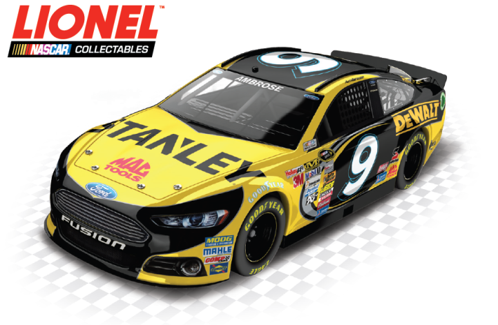 Action Lionel Color Chrome 1:24 Marcos Ambrose #9 Stanley 2nd Half 2013 Fusion