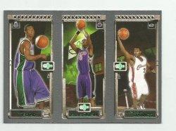 2003-04 Topps Rookie Matrix #FBJ T.J. Ford 118 RC/Chris Bosh 114 RC/LeBron James