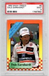 1989 Maxx Crisco #6 Dale Earnhardt PSA 9 Mint