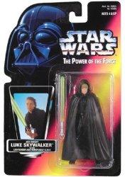 Star Wars Power of The Force Jedi Knight Luke Skywalker Action Figure