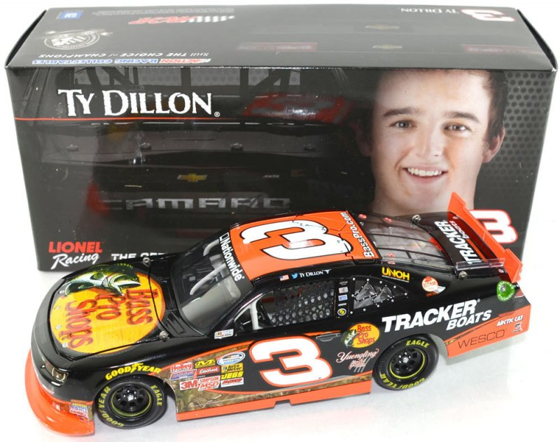 Action Lionel 1:24 Ty Dillon #3 Bass Pro Shops 2014 Chevrolet Camaro
