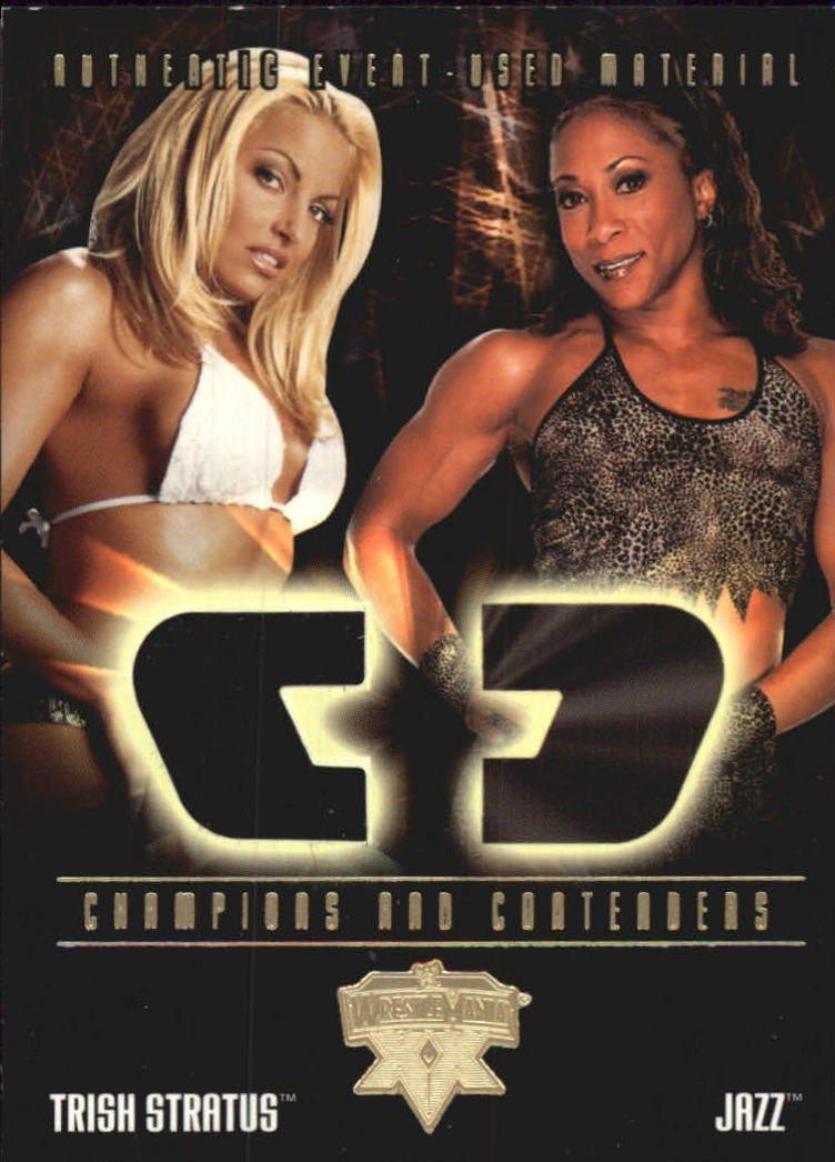 Trish Stratus 04 Fleer WWE WrestleMania XX Champions And Contanders Memorabilia