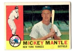 1960 Topps #350 Mickey Mantle