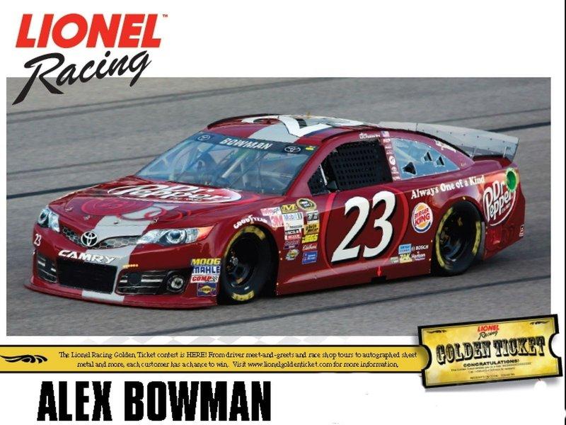 Action Lionel 1:64 Alex Bowman #23 Dr Pepper Toyota Camry