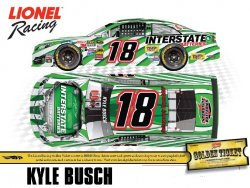 Action Lionel 1:64 Kyle Busch #18 Interstate Batteries Legeacy 2014 Toyota