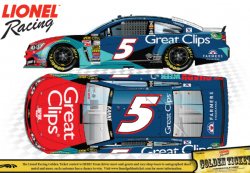 Action Lionel 1:64 Kasey Kahne #5 Great Clips/Shark Week Chevrolet