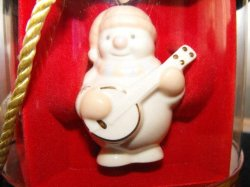 Lenox Ornaments Snowman Standabouts Set 5 2004 Mint in Original Box
