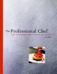 Cookbook The Professional Chef - Culinary Institute of America Hardcover