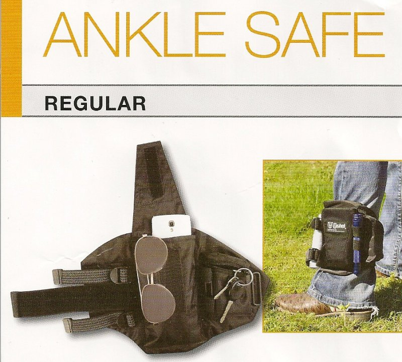 2015 Ankle Safe with hook & loop Flap