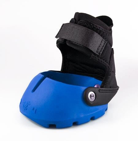 Blue Easyboot Glove Hoof Boot