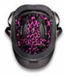 Liberty Pink Antiquus Pink Cheetah Helmet Liner