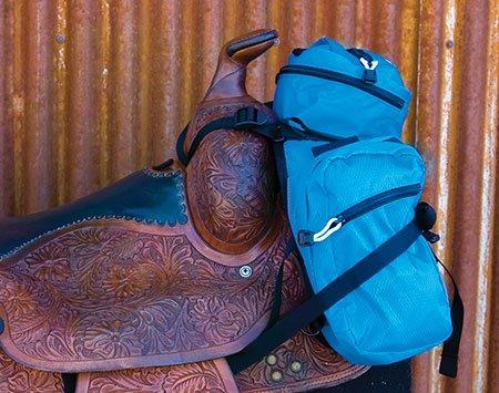 Stowaway pommel bag no bounce