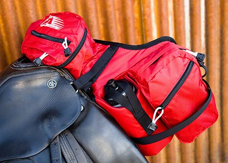 Stowaway Deluxe Pommel saddle pack bag