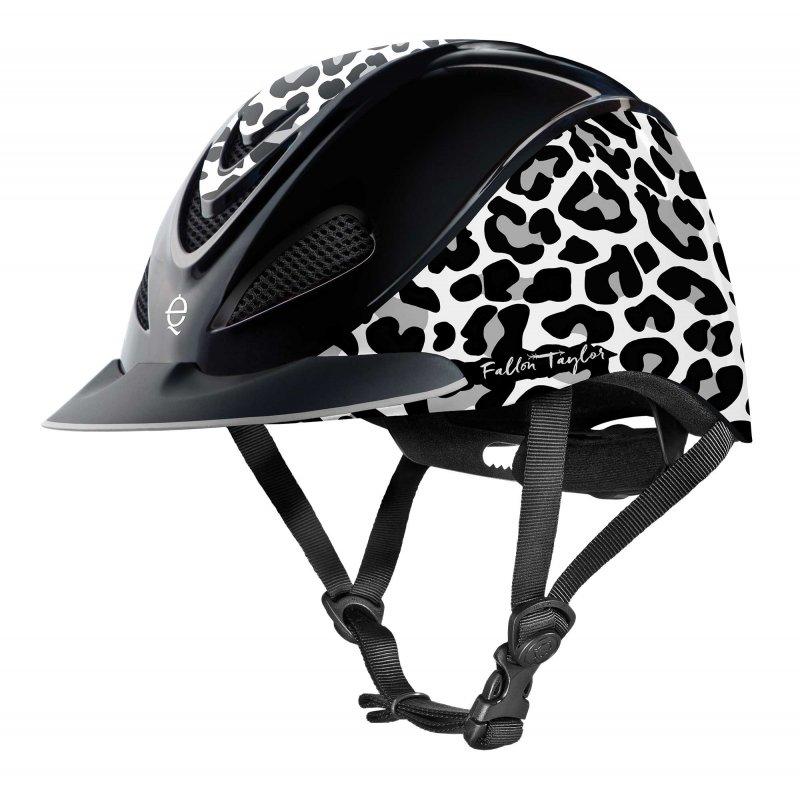 Fallon Taylor Snow Leopard Helmet