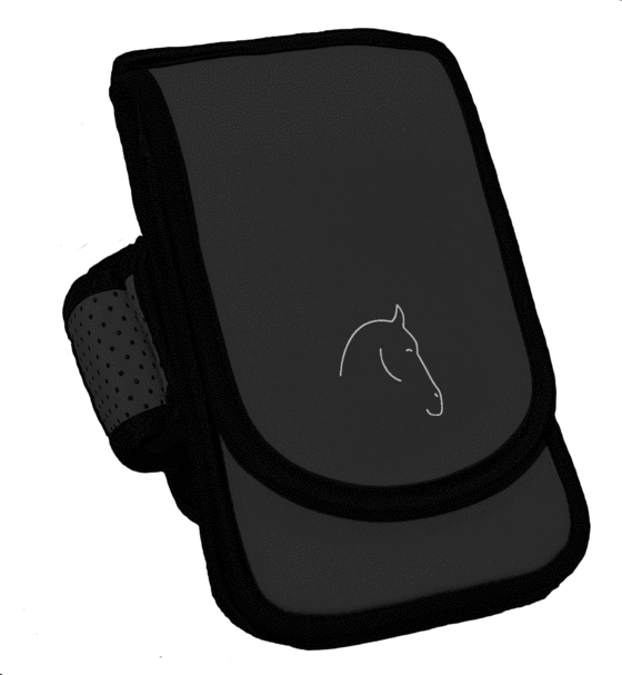 Horse Holster Black Closed