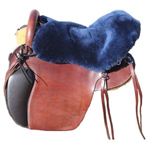 Shear Comfort Western Seat only Navy Blue
