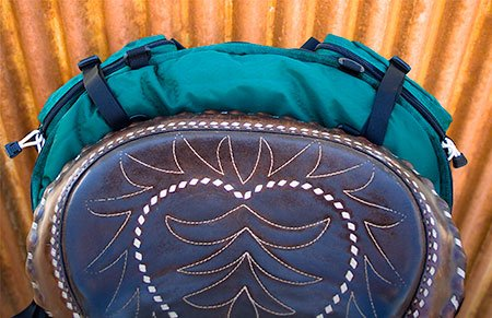 Stowaway Slim Cantle Bag top view