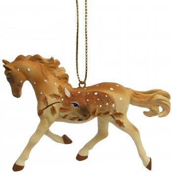 Fawn Memories Trail of the Painted Ponies ornament front