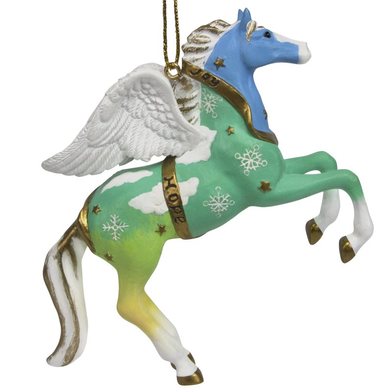 Trail of the Painted Ponies Christmas ornament