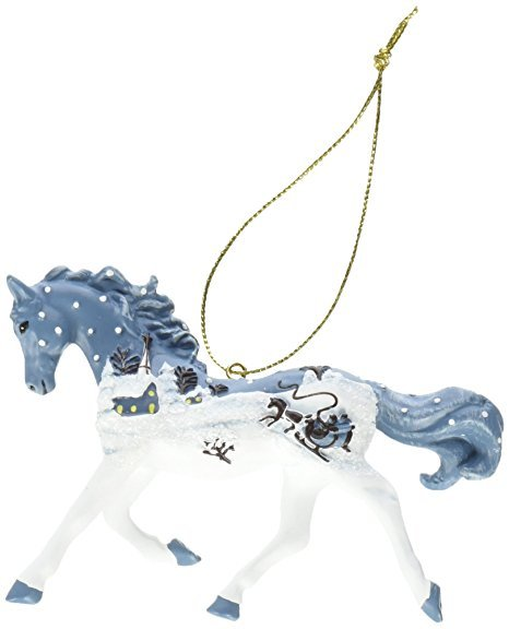 Trail of the Painted Ponies Vintage Greeting ornament